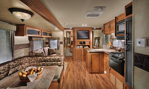 Wildwood Travel Trailer very similar to our new camper