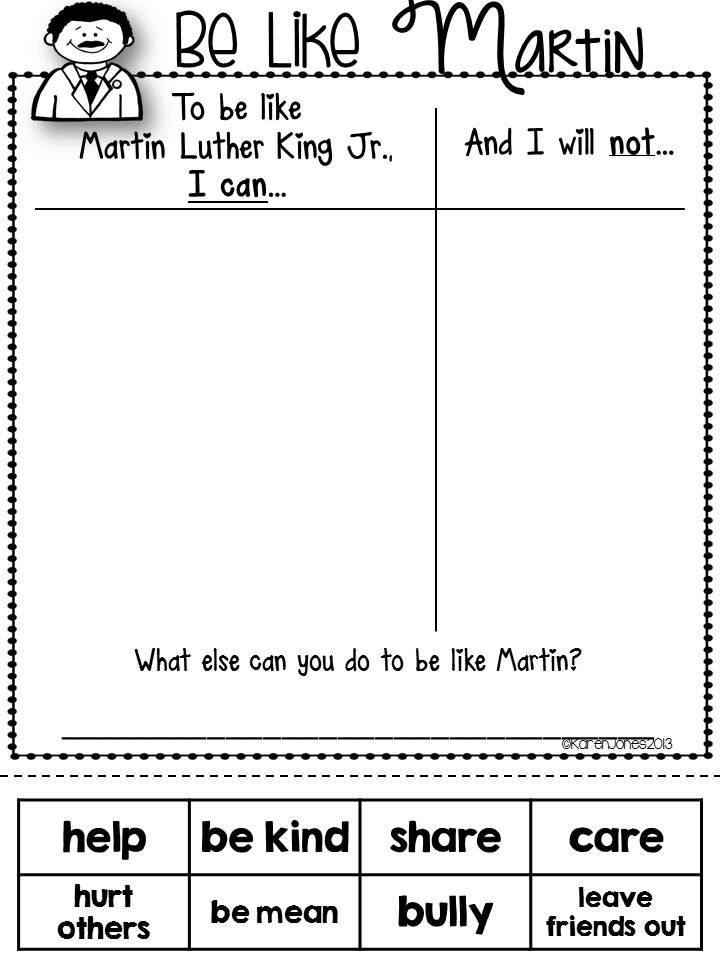Dr. King for Little Learners– Great unit to teach your kids about peace and acceptance. $