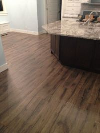 New kitchen remodel featuring Quick Step Heathered Oak