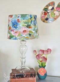25+ Best Ideas about Painting Lampshades on Pinterest ...