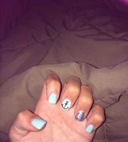 summer nails nail design anchor