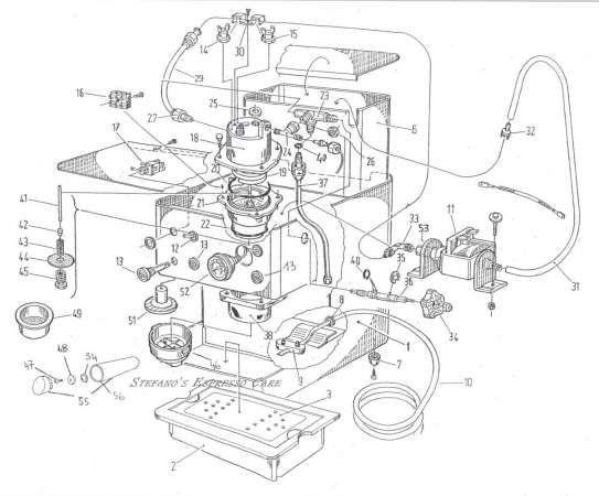 Espresso Machine patent drawing #patent #drawing #