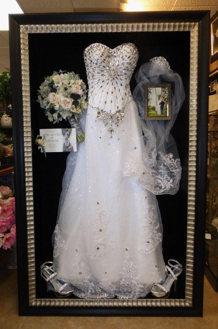Wedding Dress Shadow Box