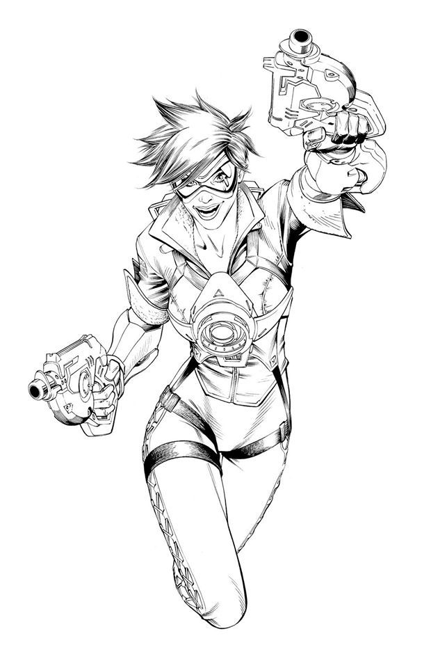 72 best images about Overwatch : Tracer on Pinterest