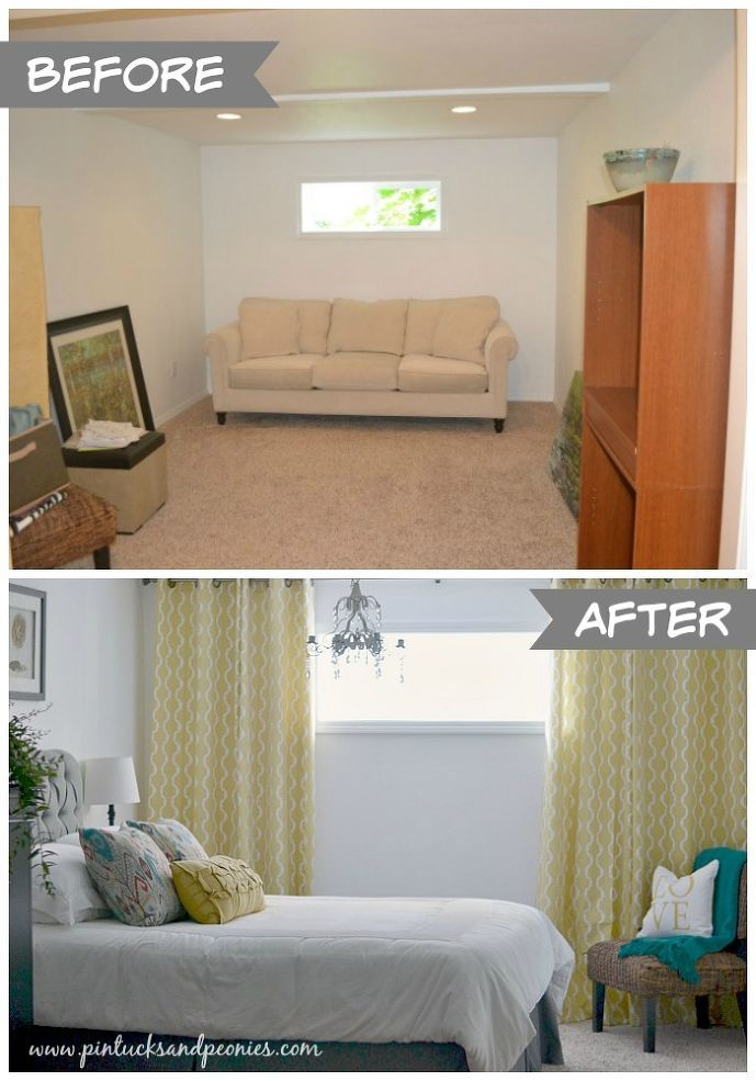 25+ best ideas about Basement Window Treatments on