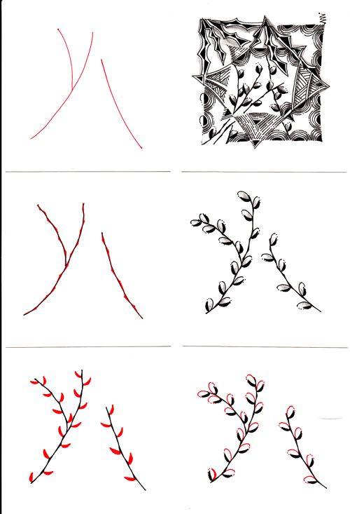 17 Best images about Zentangle Patterns on Pinterest