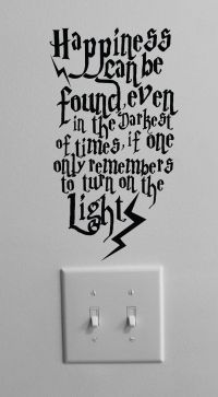 Happiness can be found even in the darkest of times ...