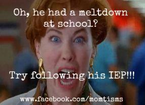 Follow the IEP!: