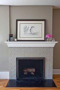 17 Best ideas about Painted Brick Fireplaces on Pinterest ...