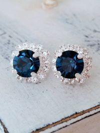 25+ best ideas about Navy Blue Bridesmaids on Pinterest ...