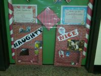 Naughty or Nice PLINKO - Interactive Christmas Door | Door ...