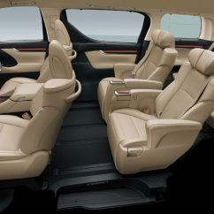 All New Vellfire 2018 Grand Avanza 2016 Type E Toyota Alphard 2,5g - Interior Seat View First ...