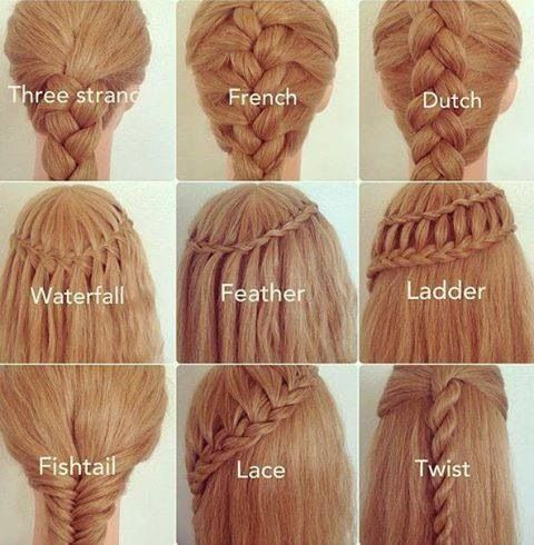 25 Best Ideas About Different Braids On Pinterest Different