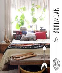 1000+ ideas about Bohemian Style Bedrooms on Pinterest ...