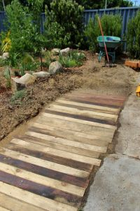 Best 25+ Wooden walkways ideas on Pinterest   Pallet ...