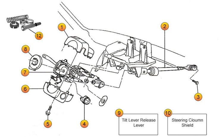 Jeep Cj7 Steering Column Parts Diagram Further Jeep Grand Cherokee