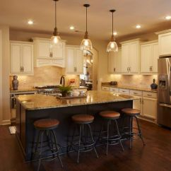 Granite Top Kitchen Island Best Inexpensive Faucet Regency Homebuilders : Open Concept Living, Large ...