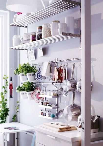 ikea kitchen hanging storage 25+ best ideas about Kitchen Wall Storage on Pinterest | Hanging storage, Ikea crib hack and