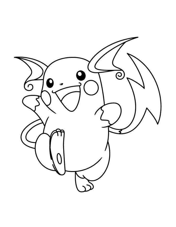Desenho De Pokemon Lendario Para Colorir