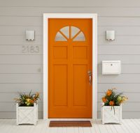 25+ best ideas about Orange Door on Pinterest