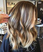 light medium brown hair with blonde