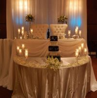 sweetheart tables | Sweetheart Table verse a Head-Table ...