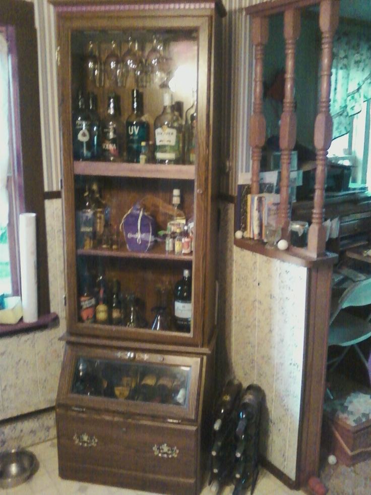 23 best images about LIQUOR CABINETS on Pinterest  Wine
