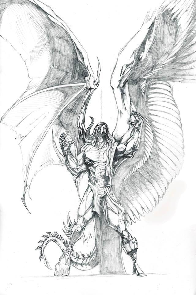 25+ melhores ideias sobre Tatuagem de anjo e diabo no
