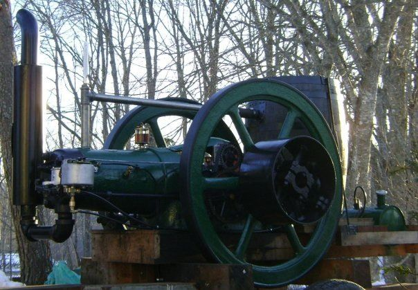1921 Fairbanks Morse 15hp Stationary Engine Out Of A