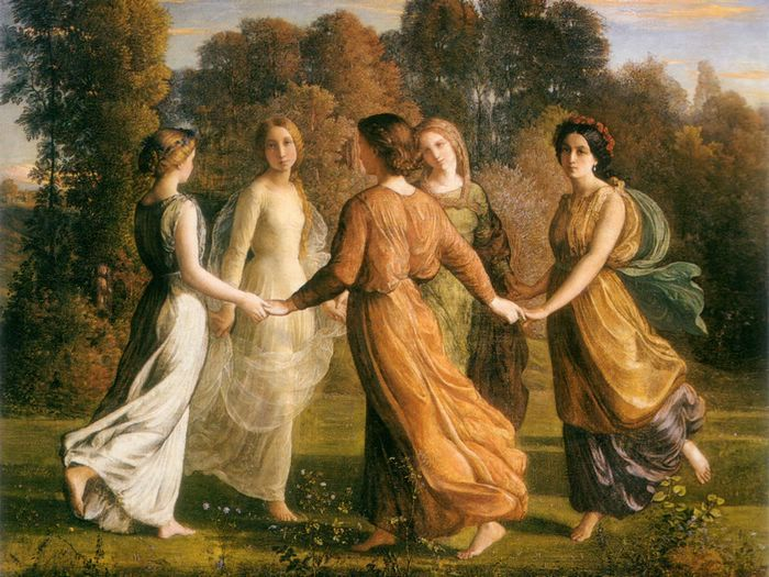Classic Paintings Of Women