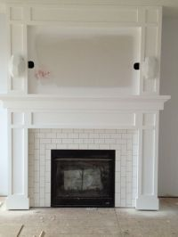 25+ best ideas about Tiled fireplace on Pinterest ...