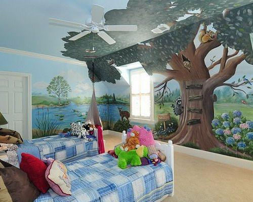 1000 ideas about Kids Wall Murals on Pinterest  Disney