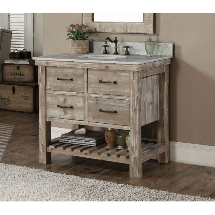 25 best ideas about Rustic Bathroom Vanities on Pinterest