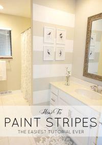 25+ best ideas about Striped bathroom walls on Pinterest ...