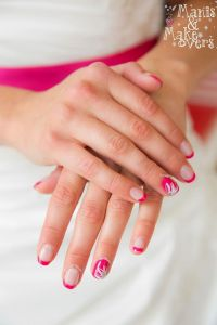 25+ best ideas about Pink Wedding Nails on Pinterest ...