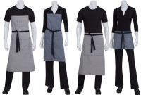 contrast/apron, cut more closely to body | Restaurant ...