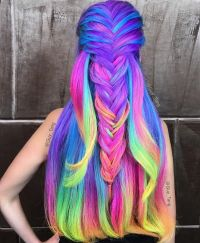 17 Best ideas about Rainbow Hair on Pinterest | Hair dye ...