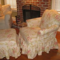 Country Style Wingback Chairs Swinging Chair Stand There Are Many Stores With The Model Of Shabby Chic Slipcover For ...