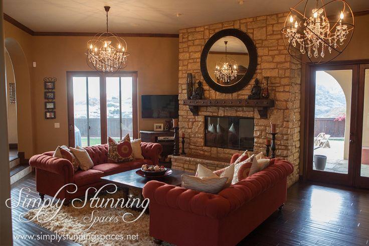 Shag Rug In Rustic Glam Living Room Sdrugoutlet