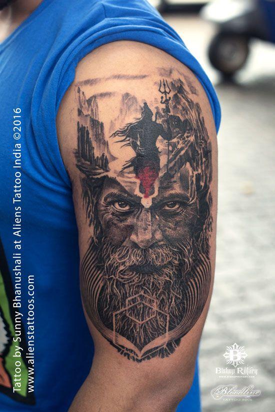 901117756 Mortal Journey Of Lord Shiva Tattoo By Sunny Bhanushali At - Modern ...