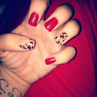 cute cheetah print nail design 181 best images about easy ...