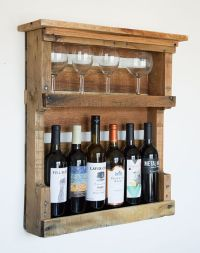 Best 25+ Pallet wine holders ideas on Pinterest