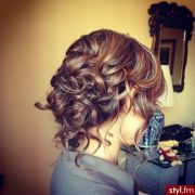 curly buns