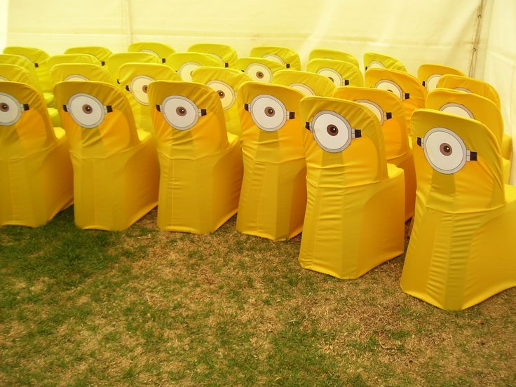 Minion Chair Covers Lets Get Creative