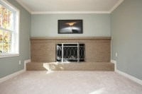 Split level-lower great room. Painted Sherwin Williams ...