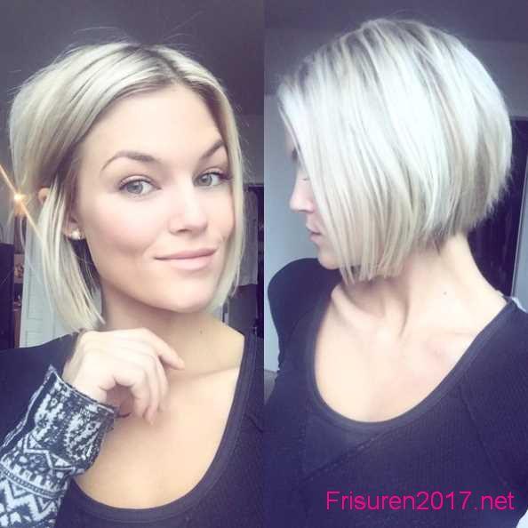 Bob Frisuren Blond Feines Haar Frisur Frisur
