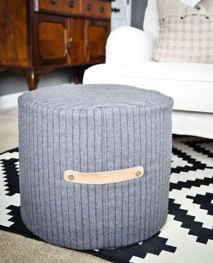 17 Best ideas about Floor Pouf on Pinterest  Diy pouf
