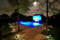 Backyard Party Pool | ... in this awesome picture of his ...
