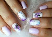 clear nail design