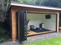 25+ best ideas about Outdoor office on Pinterest | Modern ...